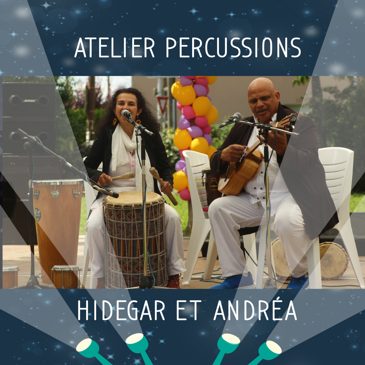 atelier percussions photo